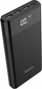 HOCO B35E Hoco Powerbank 3x USB Outlet 30.000mAh Black