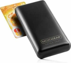 MOJOGEAR XL 20.000 mAh EXTRA FAST Powerbank – 3 apparaten tegelijk opladen